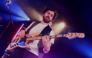 Tiago Dias bass. The Anthems Band bassist. Session bassist London. Gallery Tiago Dias