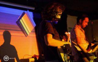 Tiago Dias bassist. Loungedelic - London gig