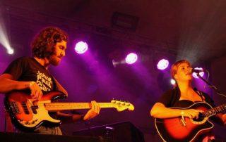 Tiago Dias - The Hobos. Barco Rock Fest, Portugal. London Bassist.