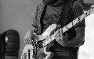 Tiago Dias bass. The Hobos. Session bassist London