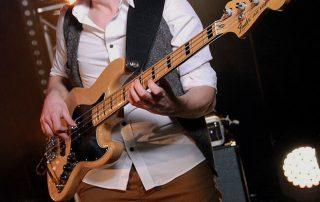 Tiago Dias bass. The Anthems Band. Session bassist London. Gallery Tiago Dias