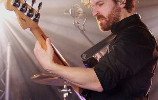 Tiago Dias bass. The Anthems Band. Session bassist London. Gallery Tiago Dias.
